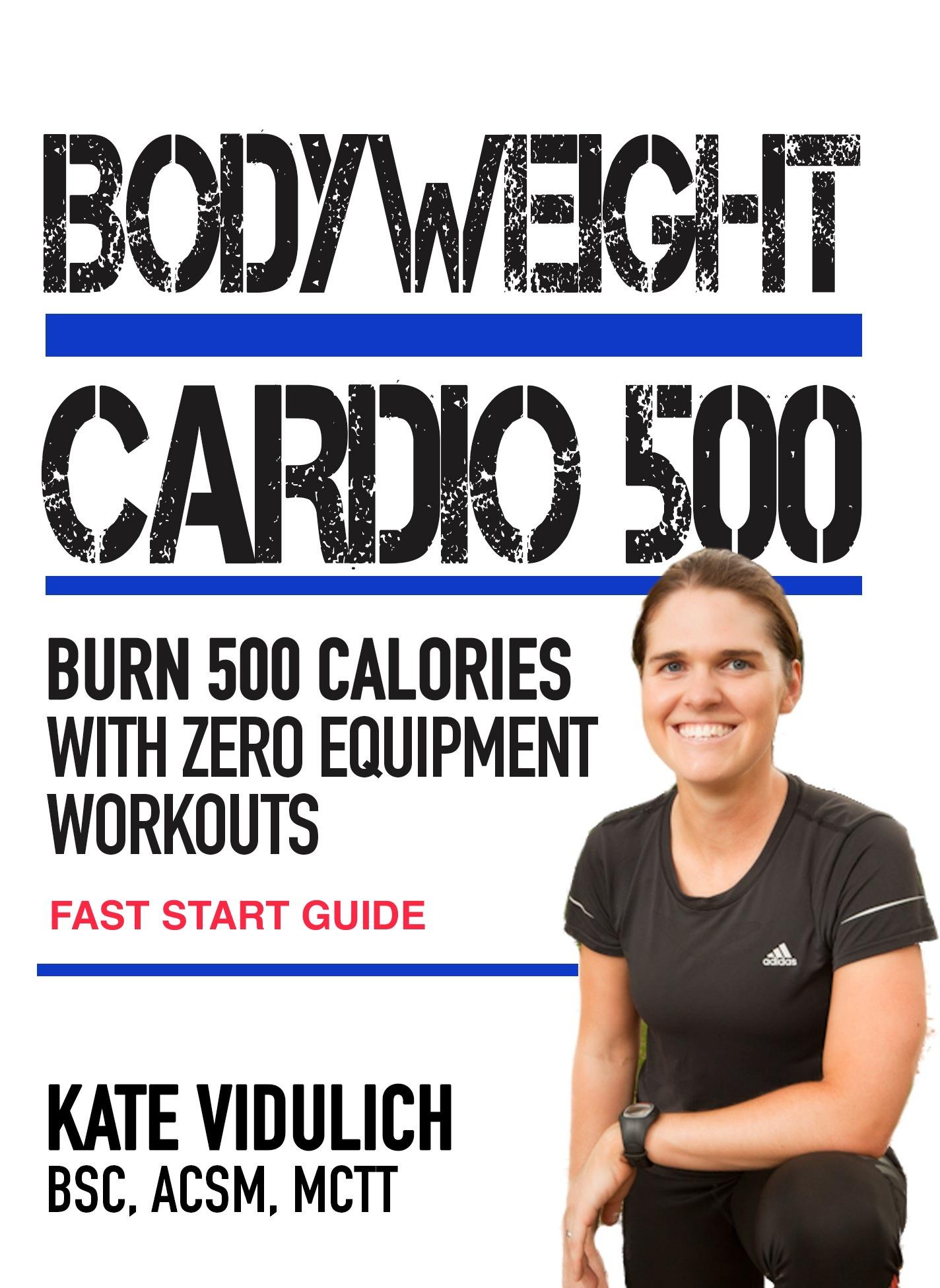 Bodyweight Cardio 500